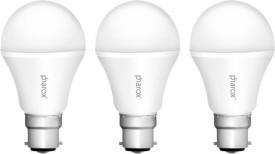 7W B22 Led Bulb (Apollo Cool White, Set Of 3)
