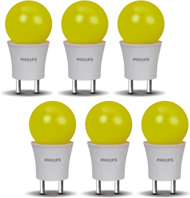 0.5 W LED Joyvision-Plug N Play Bulb Yellow (pack of 6)