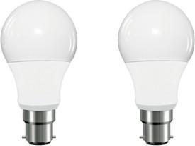 5W LED Bulb (White, Pack of 2)