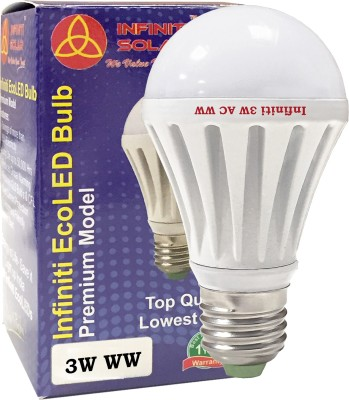 Infiniti-Eco-E27-3W-LED-Bulb-(Warm-White,-Pack-of-3)
