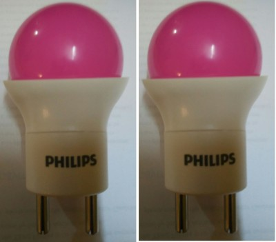 0.5-W-LED-Bulb-(Pink,-Pack-of-2)-