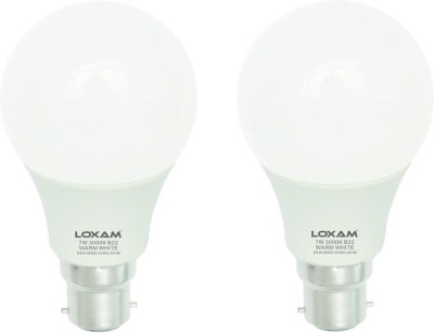 7W LED Bulbs (Warm White, Pack of 2)