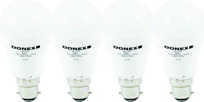 5W Aluminium Body White LED Bulb (Pack of 4)