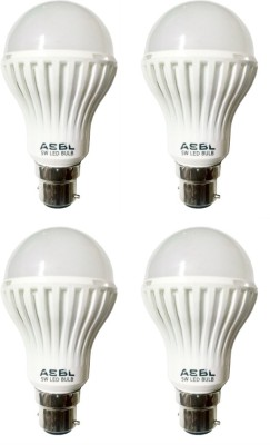 5 W LED Bulb Cool White (Pack of 4)
