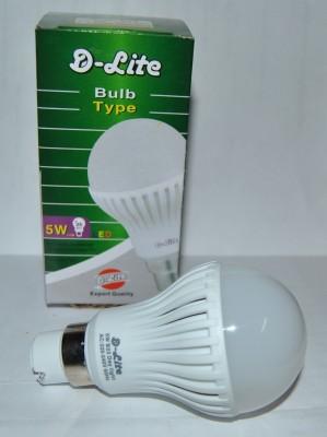 5W White LED Bulbs (Pack Of 2)