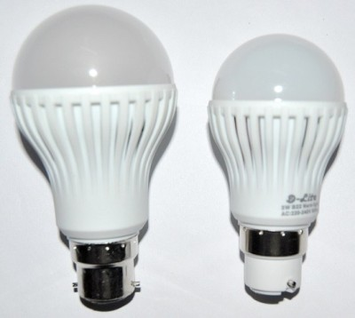 5W White LED Bulbs (Pack Of 2)