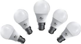 5W 450 lumens White LED Bulb (Pack Of 5)