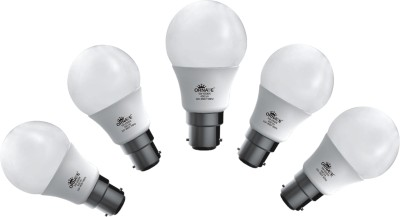 5W 450 lumens White LED Bulb (Pack Of 5)