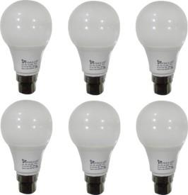 5W LED Bulbs (White, Pack of 6)