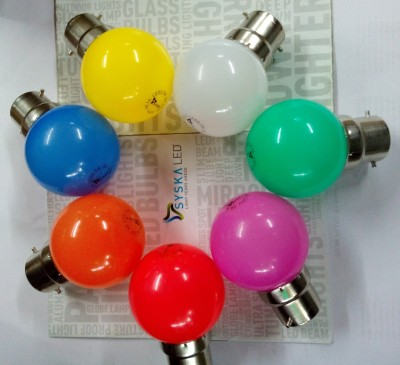 0.5 W LED Bulb Multicolor (pack of 7)