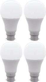10W B22 LED Bulb (Yellow, Set Of 4)