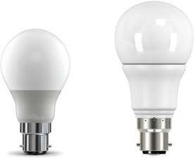 5W, 9W Cool White LED Bulb (Pack of 2)