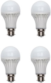 Ace 7 W LED Bulb (White, Pack of 4)