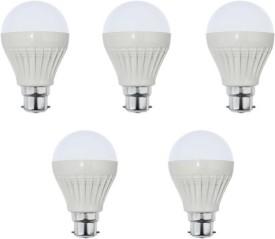 18W White LED Bulb (Pack of 5)