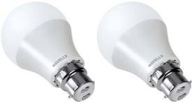 Lumeno 7W White LED Bulbs (Pack Of 2)
