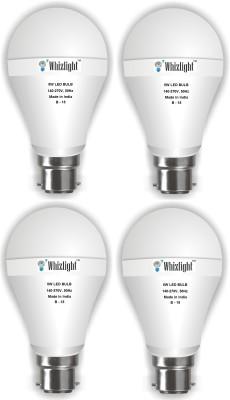 IC Based Energy Saving 5 W white LED Bulb (Pack of 4)