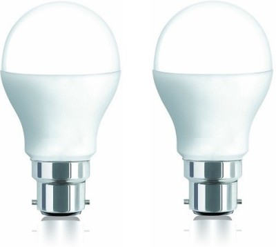 7W 600 Lumens Cool White LED Bulb (Pack of 2)