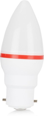 0.5 W LED Combo Pack Bulb B22 Red (pack of 3)