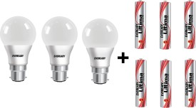 7 W LED 6500K Cool Daylight Combo Bulb White (pack of 3)