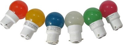 Greaves-L14SO6-0.5-W-LED-Bulb-Multi-color-(pack-of-6)