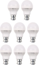 Luments 3W 460 Lumens White Eco LED Bulbs (Pack Of 8)