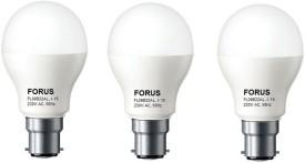 9 W FL09B22AL LED B22 Bulb Cool White (pack of 3)