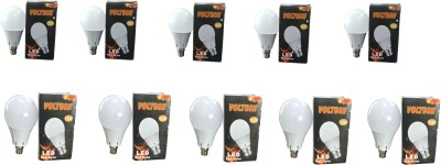 Engineerings 9 W LED Bulb B22 White (pack of 10)