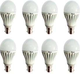 7W-B22-LED-Bulb-(White,-Pack-of-8)-