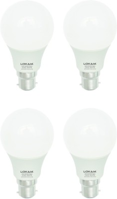 5W B22 LED Bulb (Cool White, Pack of 4)