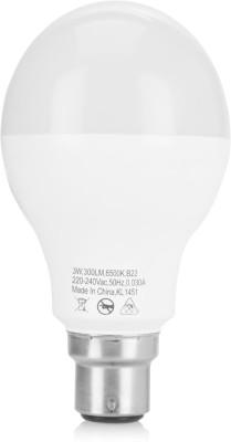3-W-LED-6500K-Cool-Day-Light-Bulb-B22-White