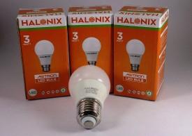3W 260L Yellow LED Bulb (Pack of 3)