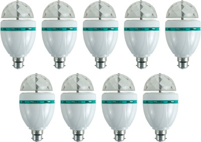 3-W-LED-Bulb-(Multicolor,-Pack-of-9)