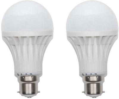 12W-Plastic-450-Lumens-White-LED-Bulb-(Pack-Of-2)