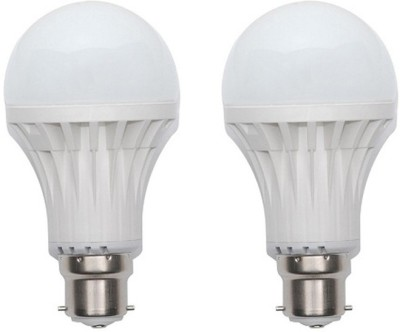 Jmt-Plus-12W-Plastic-450-Lumens-White-LED-Bulb-(Pack-Of-2)