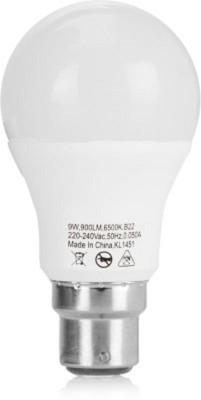 5 W LED cool daylight B22 Bulb White (pack of 2)