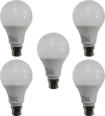 9-W-B22-PAG-LED-Bulb-(White-,Plastic,-Pack-of-5)