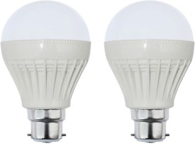 Goldpack 7W Plastic White LED Bulb (Pack Of 2)