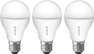 9W B22 Led Bulb (Apollo Cool White, Set Of 3)