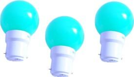 0.5W Green LED Bulb (Pack of 3)