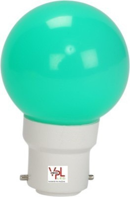 0.5W Green LED Bulb (Pack of 8)