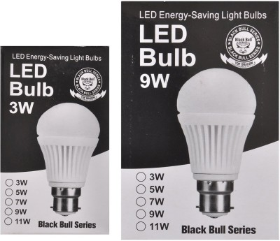 3W,7W-B22-LED-Bulb-(White,-Set-Of-2)