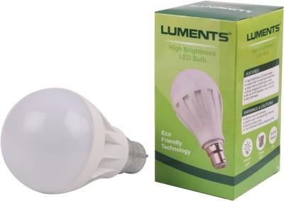 Luments-12W-450L-Plastic-LED-Bulb-(White)