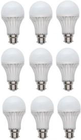 5 W LED Bulb B22 White (pack of 9)