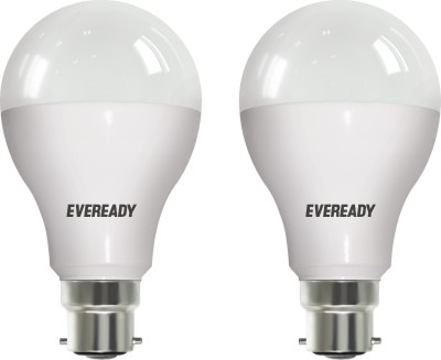 12-W-LED-6500K-Cool-Daylight-Bulb-White-(pack-of-2)-4-AAA-Batteries-(combo)