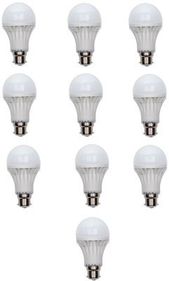 5W White LED Bulb (Pack of 10)