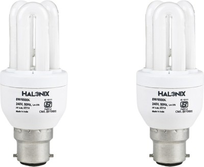 8 W CFL 3U Bulb (Pack of 2)