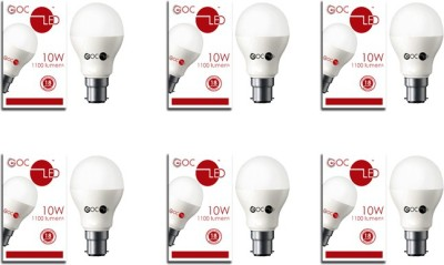 10W Crystal White LED Bulb (Pack of 2)
