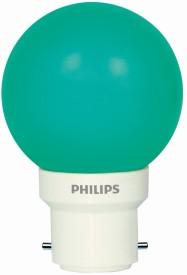 Philips 0.5 W LED Bulb (Green, Pack of 5)