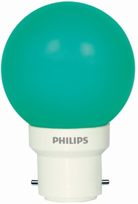 0.5 W LED Bulb (Green, Pack of 5)