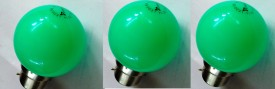 0.5-W-LED-Bulb-B22-Green-(pack-of-3)